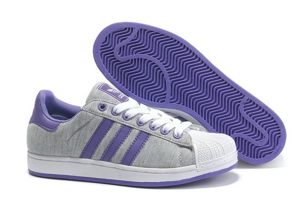 Adidas Superstar Ii Womens & Mens (unisex) Grey Purple Clearance